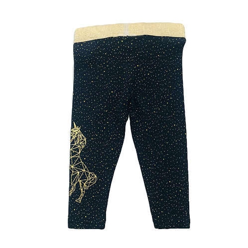 Navy Horse Legging