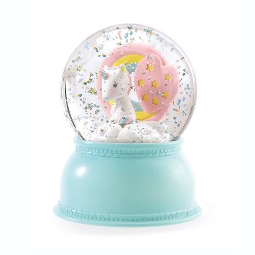Unicorn Globe Night Light