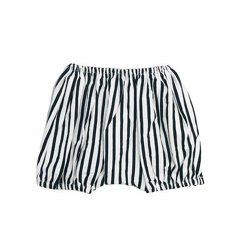 Relaxed Stripe Short