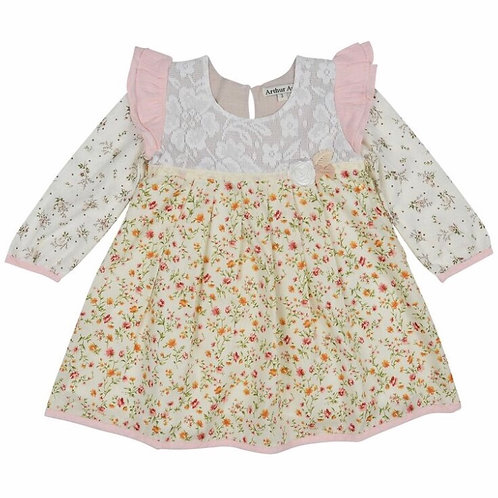 Little Flowers Swing Dress