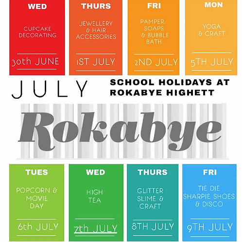 School Holiday Booking