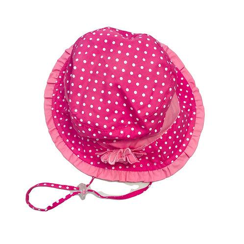 Pink Spot Sun Hat