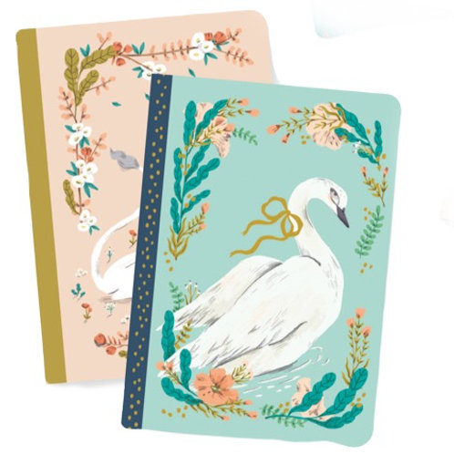 Mini Swan/Unicorn Notebook