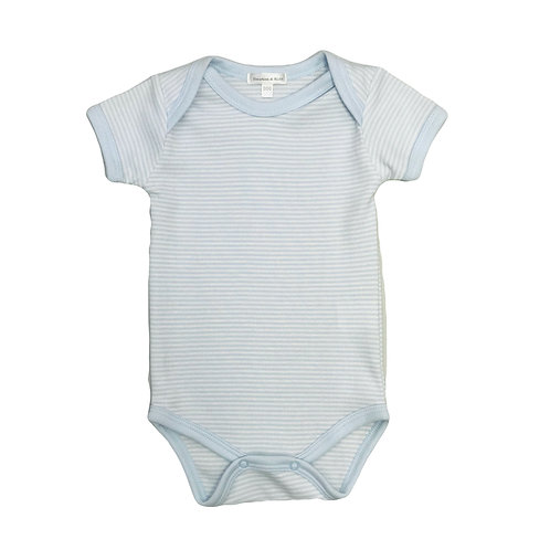 Blue Fine Stripe Bodysuit