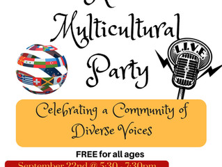 WWMV-LP and YASI Present: The Radio Multicultural Party