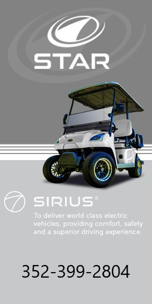Star Sirius 2020 slick with number golf