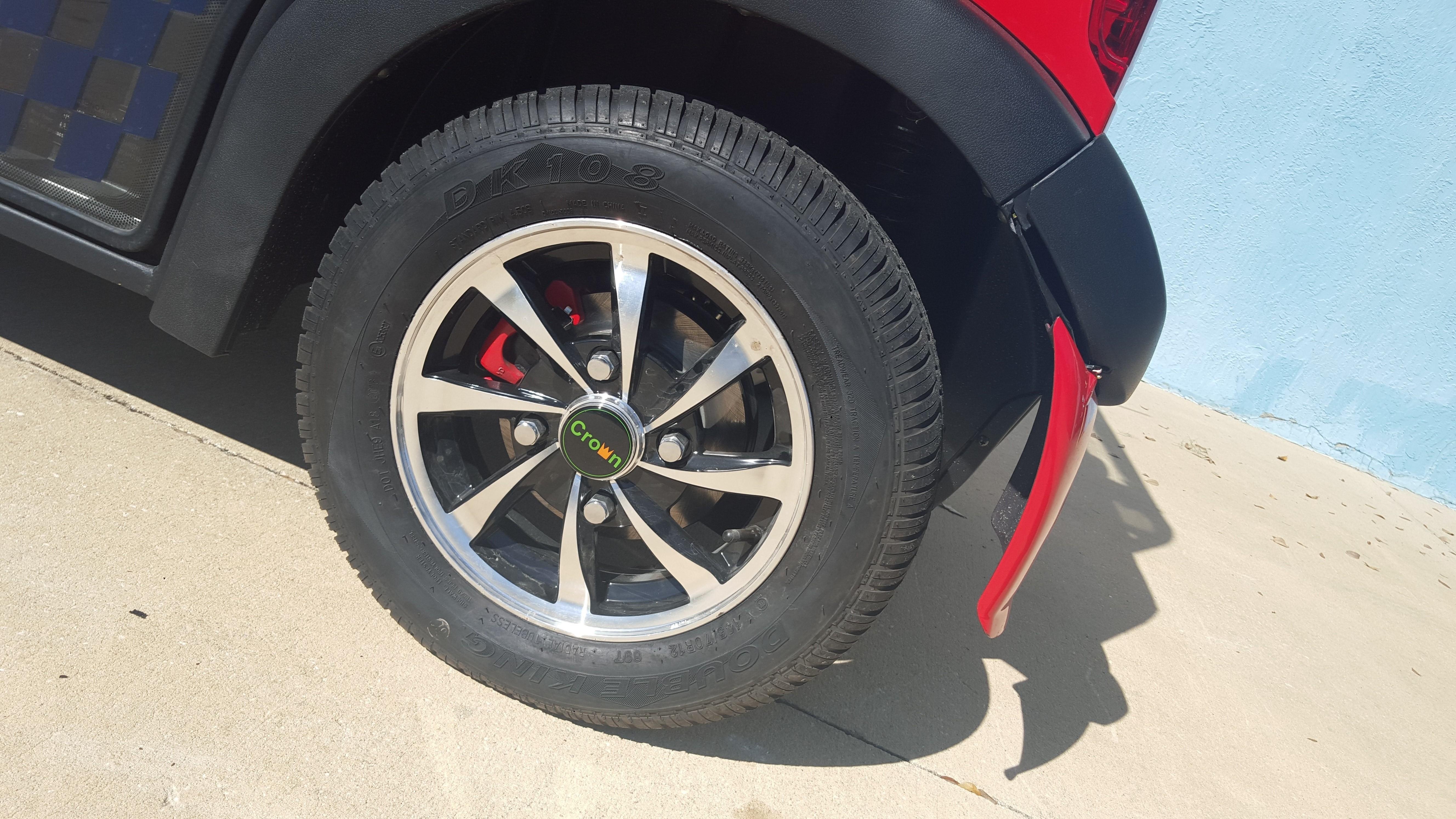 """Standard 12"""" Rim-Road Tire"""
