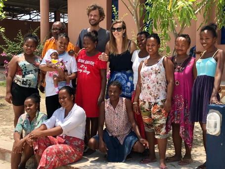 Tiphaine et Marc, une année auprès d'Ecoles du Monde à Madagascar