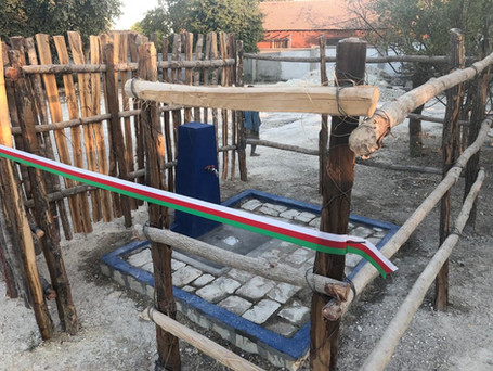 une nouvelle borne fontaine à l'école de Besely