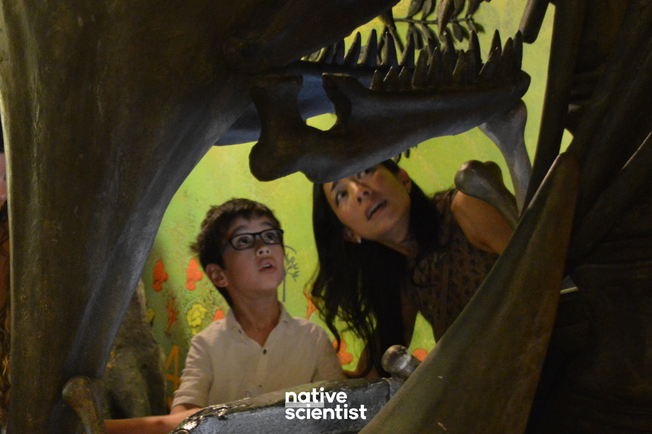 Native Scientist explores the Origin of the Universe at Dynamic Earth