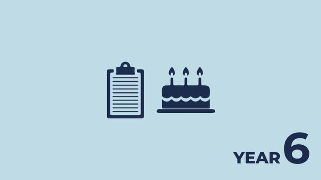 Year 6: summing up successes