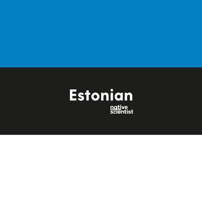 Native Scientist speaks Estonian too