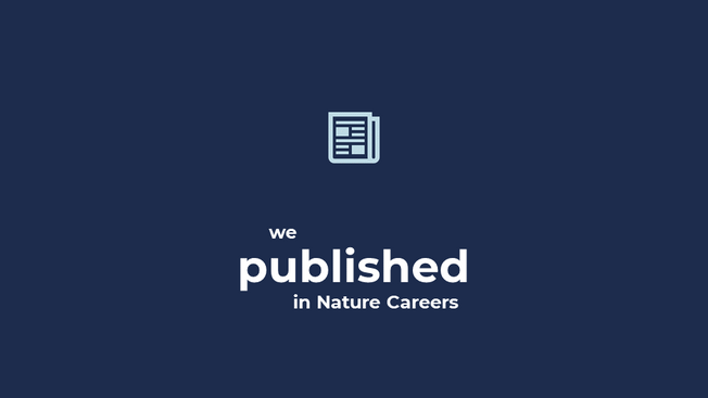 Outreach experiences with Native Scientist in Nature Careers