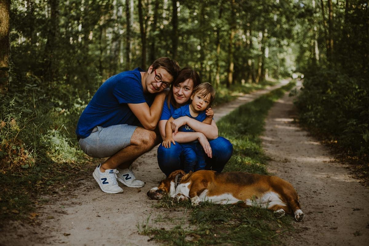 naturalne zdjęcia rodzinne