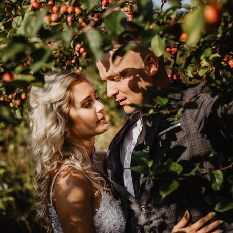 Patrycja i Albert | Sesja poślubna w Powsinie