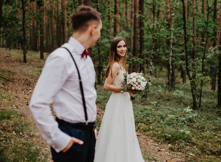 K&A - leśny plener poślubny