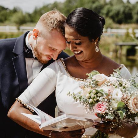 Vicky i Piotr   Polsko - malezyjski ślub kościelny    Folwark Białych Bocianów