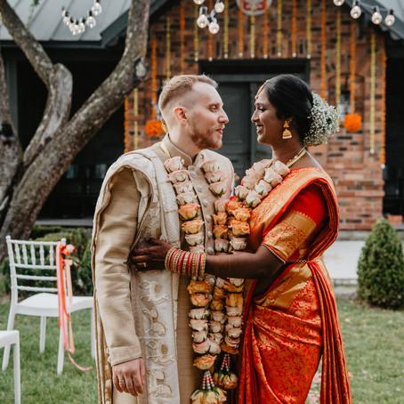 Plenerowy ślub Hindi w Polsce- Vicky i Piotr - Folwark Białych Bocianów