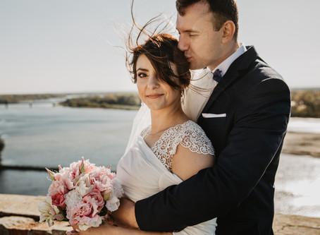 Anna + Marcin | Sesja poślubna w Modlinie