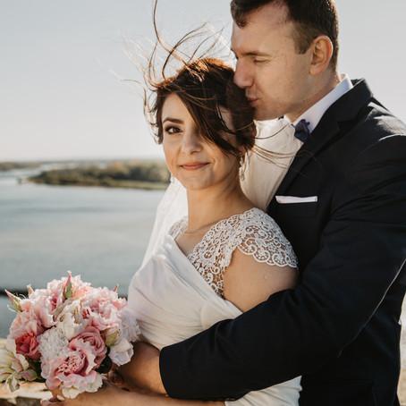 Anna + Marcin   Sesja poślubna w Modlinie