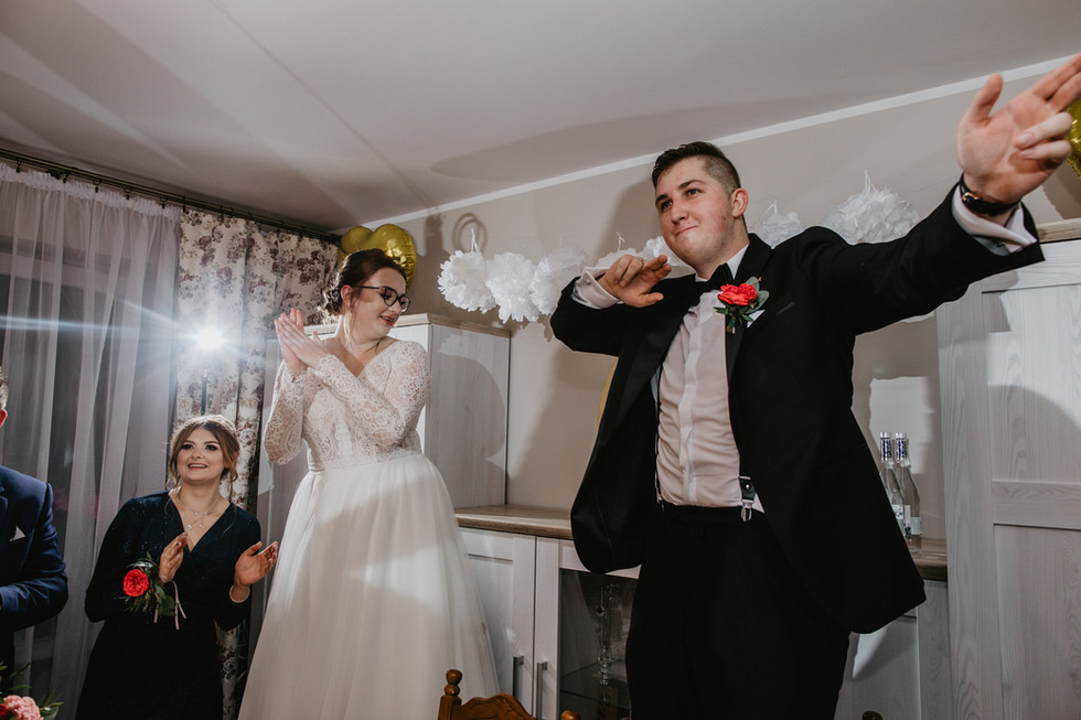 Ślub w czasach pandemii - wesele w domu | Marta i Karol