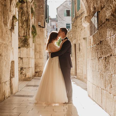 Karolina + Kuba | Wakacyjny plener poślubny Split