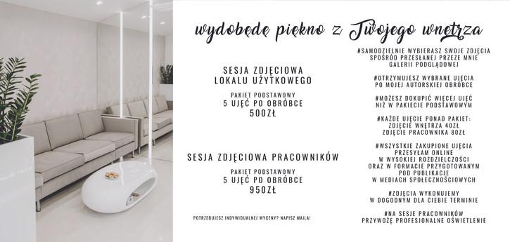Fotografia wnętrz Warszawa