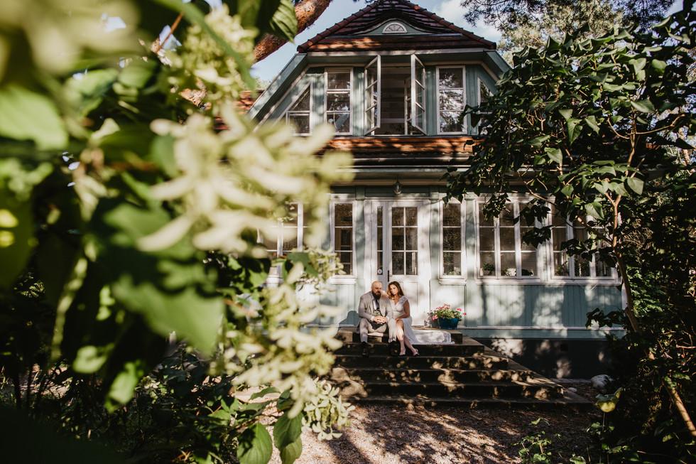 Ela i Łukasz | Sesja w zabytkowym domu
