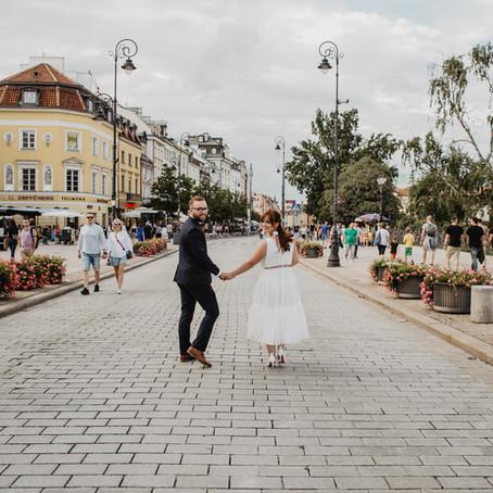 Sasza i Jacek | Piękny ślub na Starym Mieście