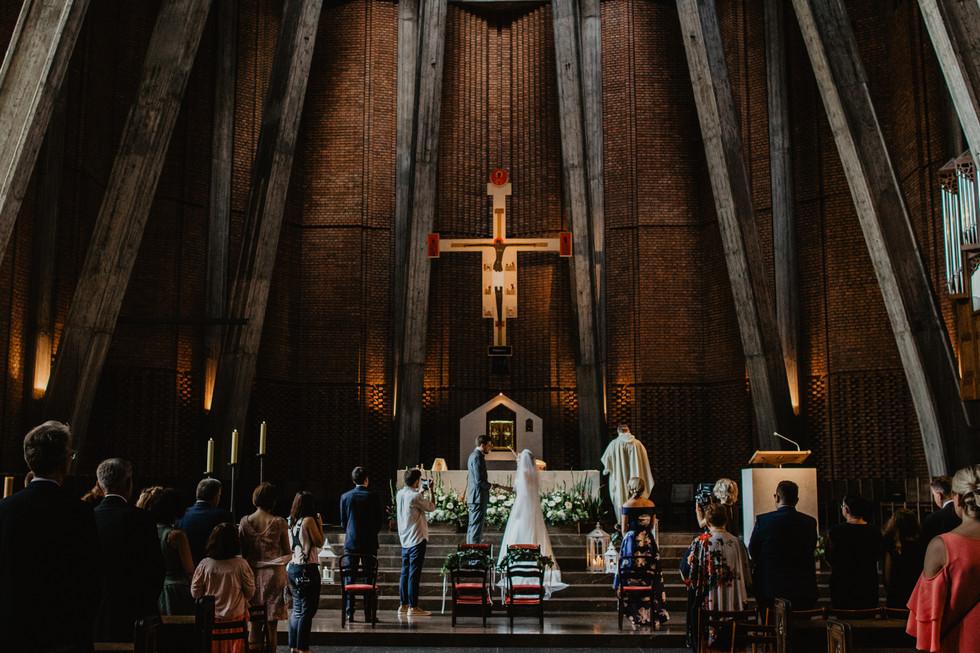 Ania + Michał | Ślub u Dominikanów, wesele w Ruchence