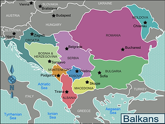 Trenle Balkanlar Turu