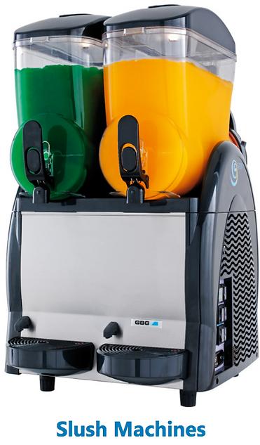 Trident Beverage's Slush machines. To find more about this, go to tridentbeverage.com/equipment-program