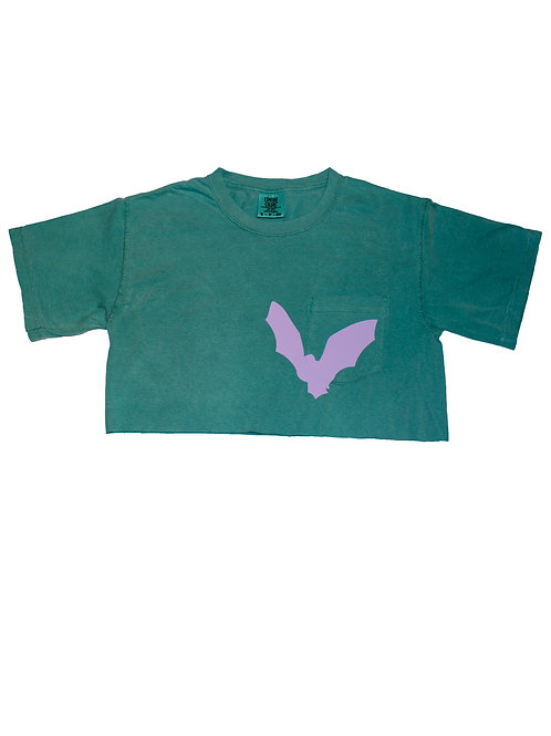 W Bat pocket T-shirt