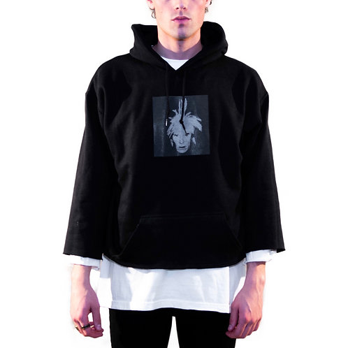 AW Cropped Sleeve Hoodie