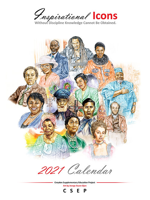 Calendar of Inspirational Icons