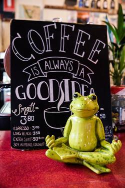 You need a coffee!