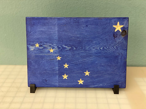 Alaska Flag **Item available for PICK UP ONLY**