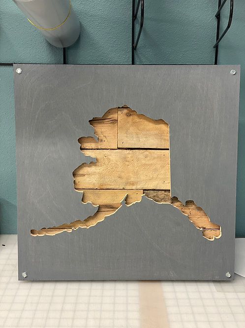 Ak Pallet Sign **Item available for PICK UP ONLY**
