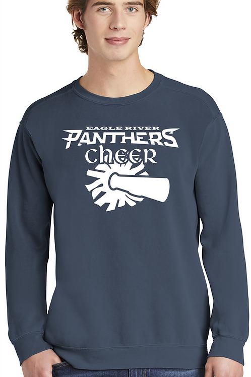 Panther Cheer Crewneck Sweatshirt