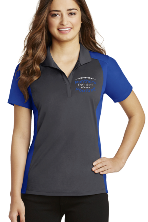 Panthers Coach Ladies Micropique Polo
