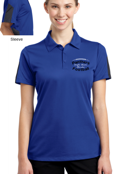 Panthers Coach Ladies PosiCharge Polo