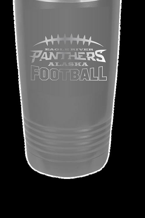 Panther Football 20 oz Tumbler