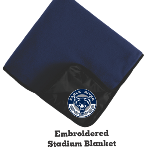ERHS FB Fan Blanket *Embroidered on Fleece Side