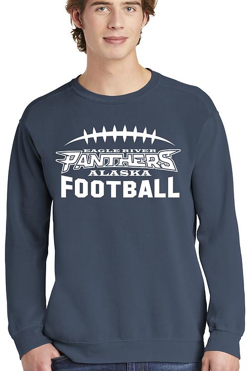 Panther Football Crewneck Sweatshirt