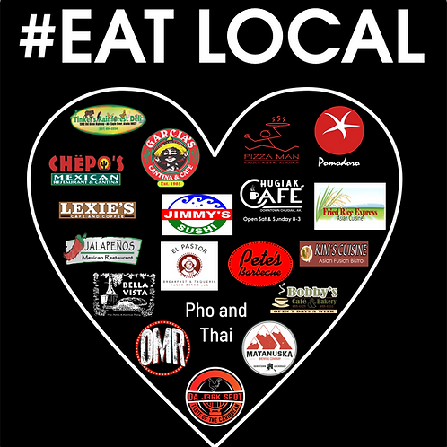 #EATLOCAL Decal