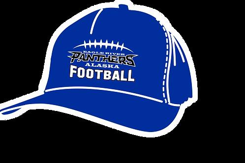 Panther Football Baseball Hat