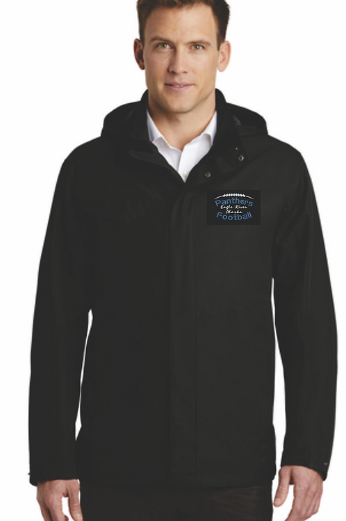 Panthers Coach Adult Outer Shell Jacket