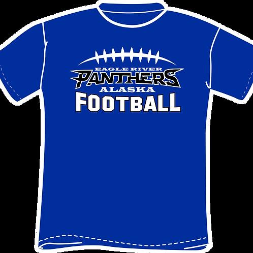 Panther Football Short Sleeve TShirt