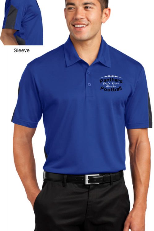 Panthers Coach Adult PosiCharge Polo