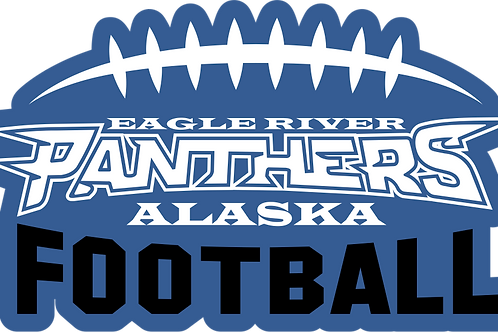 Panther Football Full Color Decal